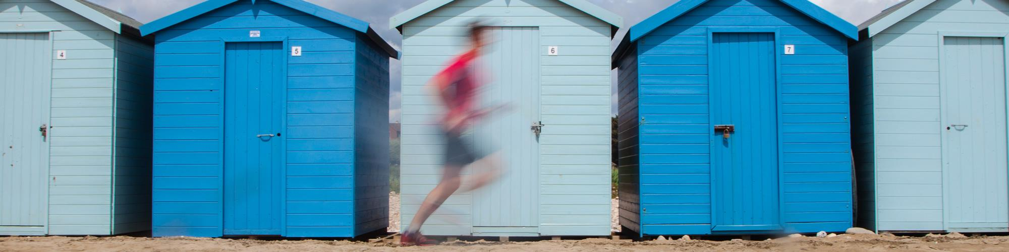 Running at the Beach, Fitness and Technique Training - Elevate Physiotherapy in Yeovil, Somerset